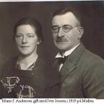 Marie og Iver Jessen 1919